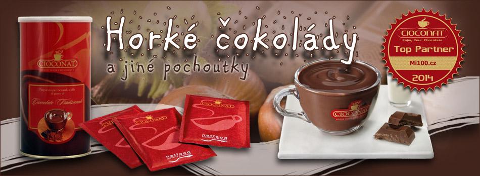 Horké čokolády Cioconat a další pochoutky