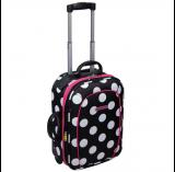 Cestovní kufr Dunlop Ladies dotted 45cm/22 litrů, kabinový