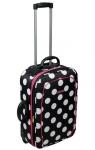 Cestovní kufr Dunlop Ladies dotted 52cm/34 litrů