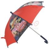 Deštník pro děti, Auta/Cars, černočervená
