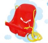 Houpačka plastová s pásy, různé barvy-AKCE