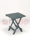 Plastový skládací Stůl ADIGE, zelený