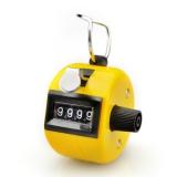 Počítadlo mechanické - clicker - žlutá