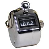 Počítadlo mechanické chromové - clicker