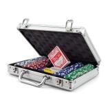 Pokerset 200 Chipů v hliníkovém kufříku
