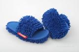 Úklidové sasankové papuče - modré