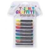 Tričkové Graffiti aneb permanentní fixy na textil